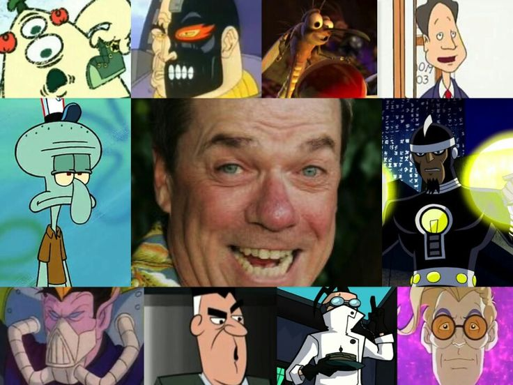 The voice of Rodger Bumpass