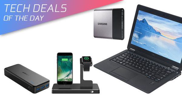 Tech Deals: 50% Off 2-In-1 iPhone + Apple Watch Dock, $20 Off 500GB SSD, 43% Off Dell Laptop, More  #$20Off500GBSSD #43%OffDellLaptop #More #TechDeals:50%Off2-In-1iPhone+AppleWatchDock #news