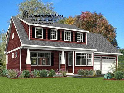 June Iris Bungalow Art Form House Plans House Plans