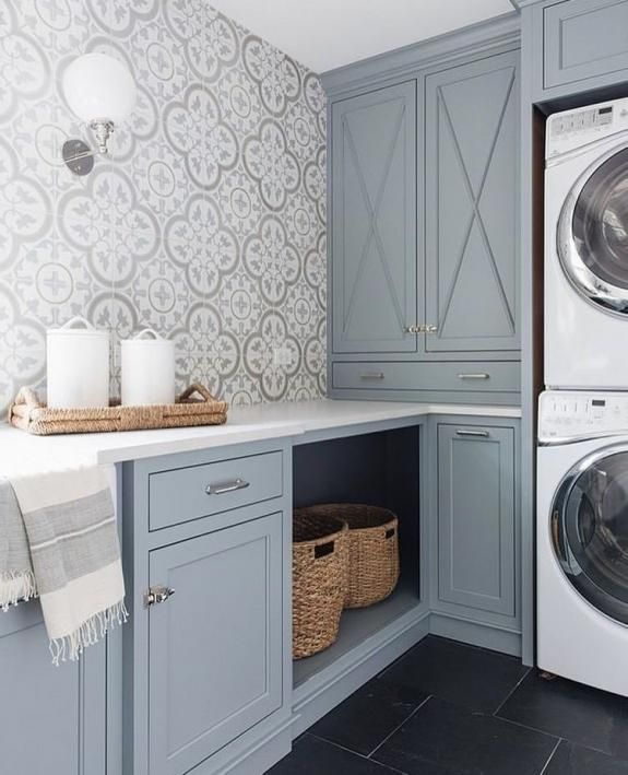 24 Attractive Laundry Decor Wall And Art Ideas Laundry Decor Laundry Room Makeover Laundry Room Cabinets
