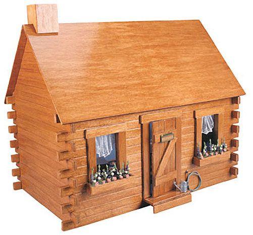 Wooden Dollhouse Kits | Corona Concepts 9308 Shadybrook Cabin Wooden Dollhouse Kit | eBay