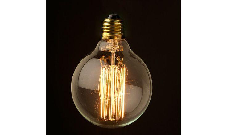 Mr Ralph - Vintage Edison Filament 40 watt - Dolly Bulbs 125 mm, Bulbs