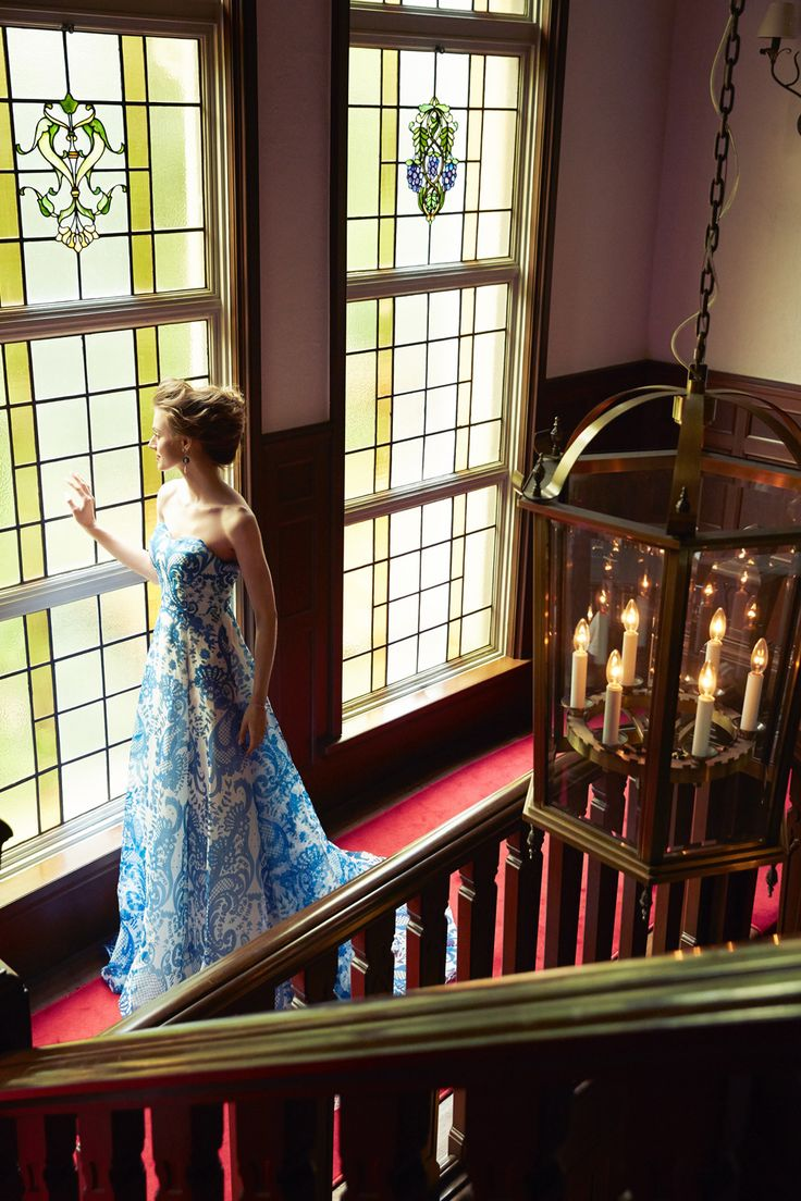[DRESS:temperly for NOVARESE Long Marler] weddingdress weddingday white princess