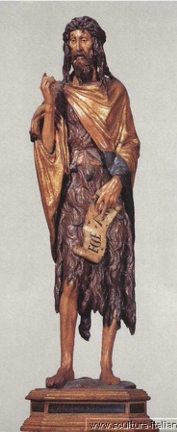 Donatello. Basilica dei Frari. 1438. (Ma secondo  alcuni sarebbe del periodo padovano)