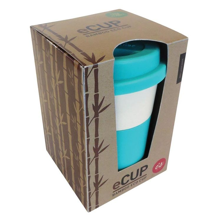eCup Eco Friendly Travel Cup Made From Bamboo Fibre With Silicone Lid....$16.95