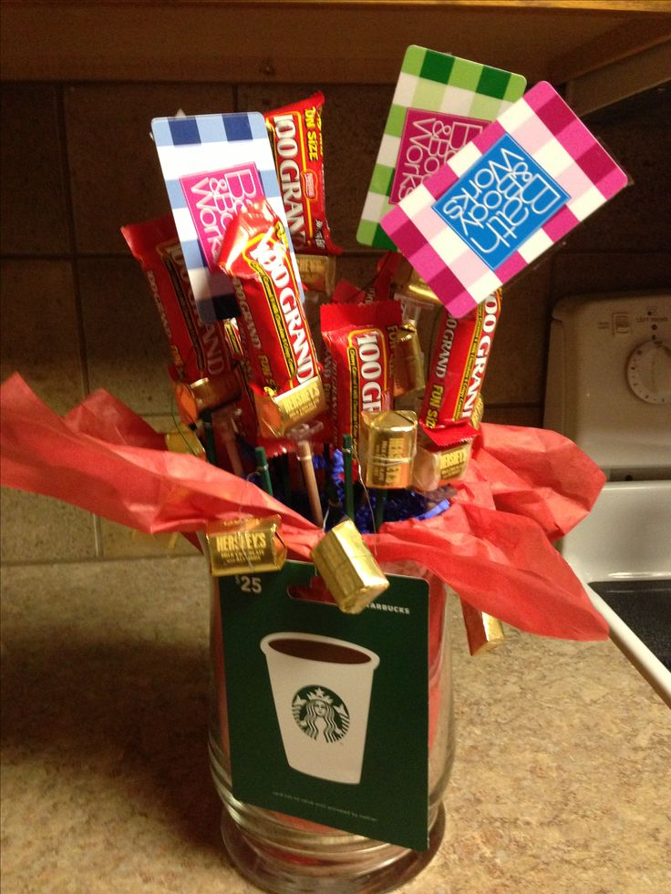 Gift Basket Ideas For Coworkers Thanks A Million Candy Bouquet Great Thank You