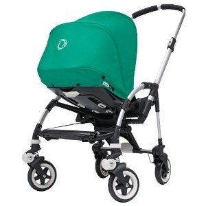 Bugaboo Bee Stroller and Canopy - Special Edition-Jade Green