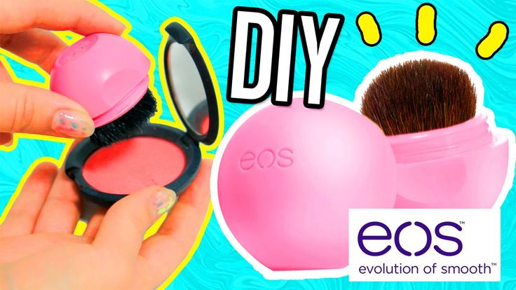DIY EOS MAKEUP BRUSH!! Carry your EOS brush on the go!