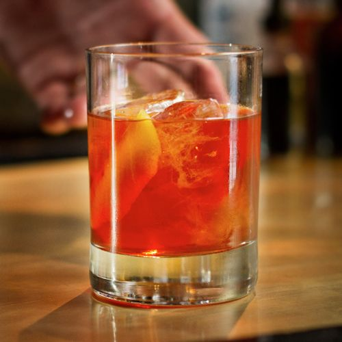 Old Fashioned It's hard to go wrong with this tried and true sipper, but while an Old Fashioned usually calls for bourbon or rye whiskey, the drink's name refers to the original definition of a cocktail: a combination of liquor (of any kind), sugar, water and bitters. So we say put aside the American whiskey and add a jigger of Scotch. This just might be your dad's new favorite.