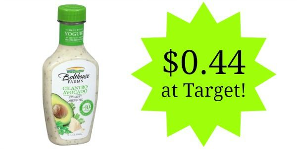 Target: Bolthouse Farms Salad Dressing Only $0.44!