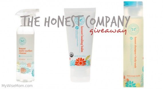 The Honest Company review (part 2) + giveaway! www.MyWiseMom.com