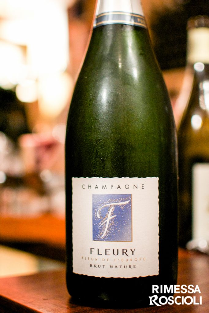 Champagne Brut Nature Fleury