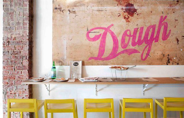 Dough – a funky pizzeria in Perth's Northbridge nightlife strip of William Street.