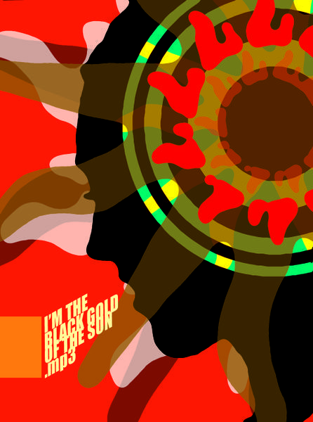 'black gold of the sun' by Petros Vasiadis on artflakes.com as poster or art print $15.11