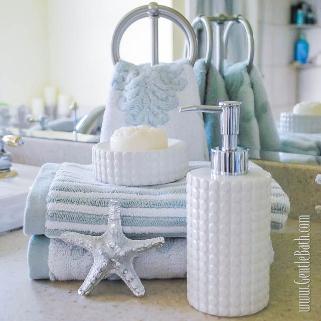 star light star bright coastal style bath decor idea beach style spaces other metro the gentle bath company