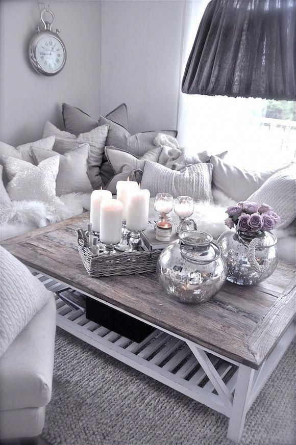 Can you have too much grey? I think not! <3 #livingroomhomedecor