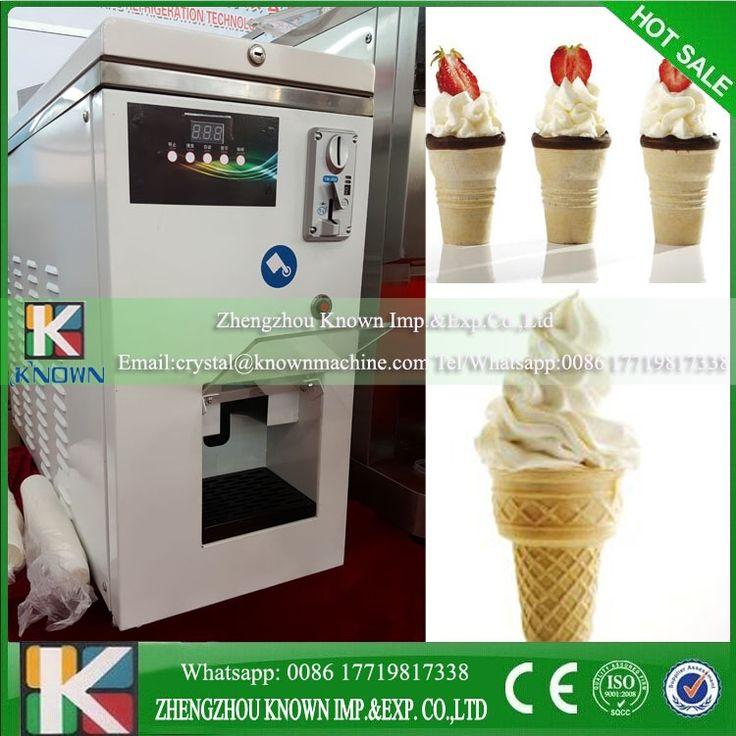 2150.04$  Buy here - http://alizer.worldwells.pw/go.php?t=32783184619 - Soft icecream vending machine / ice cream vending machine coin operated
