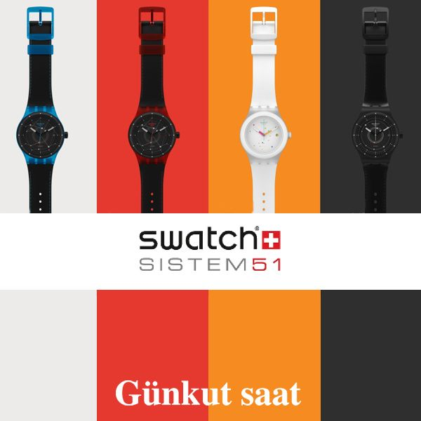 Saat dünyasında çığır açan bir koleksiyon: Swatch Sistem51   http://www.gunkutsaat.com/catinfo.asp?src=SISTEM&imageField2.x=0&imageField2.y=0