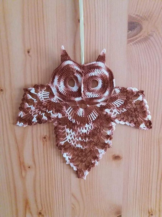 Hey, I found this really awesome Etsy listing at https://www.etsy.com/listing/527441225/crochet-owl