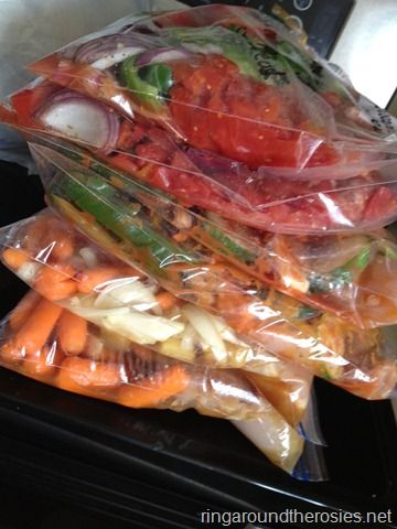 12 healthy crockpot meals to be frozen prepped in 2 hours