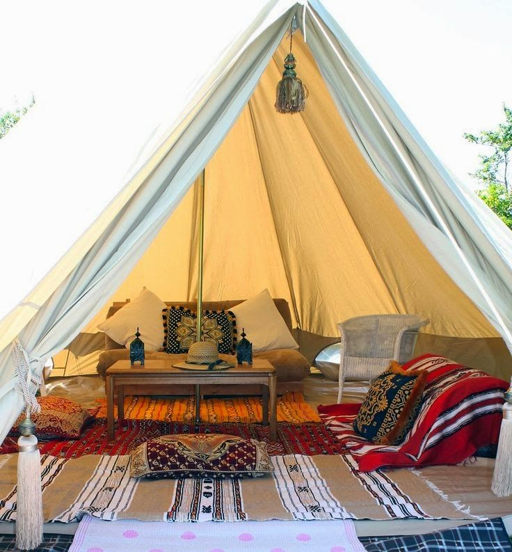 Bell Tent Decor Captivating How Amazing Is This Beautiful Bell Tent  Really Want To Own One Decorating Design