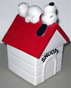 mccoy cookie jars - Of course, Willa keeps Cicero's treats in a Snoopy cookie jar.