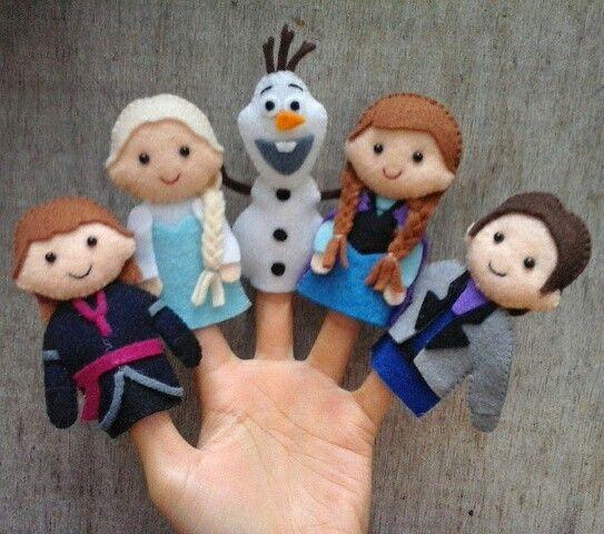 Frozen finger puppet                                                       …