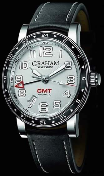 Graham Silverstone Time Zone Watchs