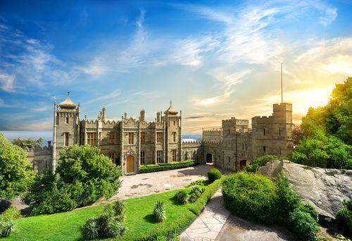 Vorontsov Palace, Alupka, Crimea, Ukraine