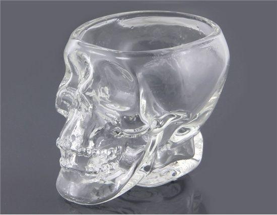 74 ml Kristallen Schedel skull Vodka Shot Glas