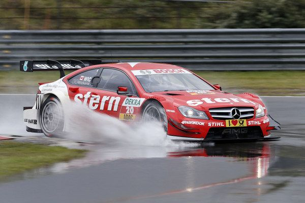 Mercedes Benz continues to lead: Jamie Green and Gary Paffett finish 4th and 7th at DTM Race Weekend
