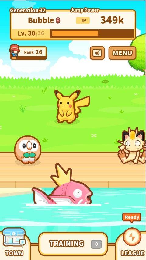 Pinky magikarp and friends