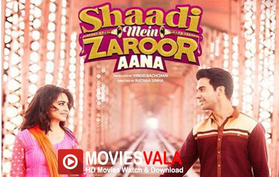 Shaadi Mein Zaroor Aana 2017 free bollywood movies online. Shaadi Mein Zaroor Aana latest Bollywood drama romantic family movie directed by Ratnaa sinha.  Rajkummar Rao, Kriti Kharbanda, Govind Namdev are playing lead roles in this movie. this movie is scheduled to release on 10 November 2017.  Shaadi Mein Zaroor Aana 2017 Full HD Movie Watch online Free Download Dvdrip. Storyline Satyendra …
