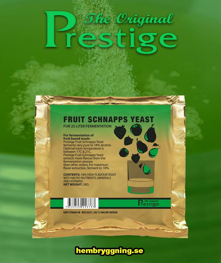 En snabb vinjäst som effektivt drar ut frukssmaken vid vintillverkning. Tål 18% alkohol. Till fruktmassajäsning (fruktmäsk) av färsk eller djupfryst frukt.