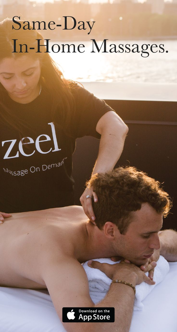 There's no time like the present. Don't wait a week for a spa appointment when Zeel can come right away.