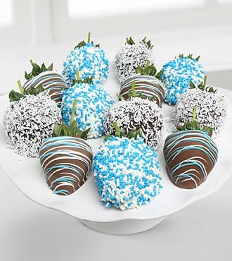 Golden Edibles™ Belgian Chocolate Covered Summer Strawberries