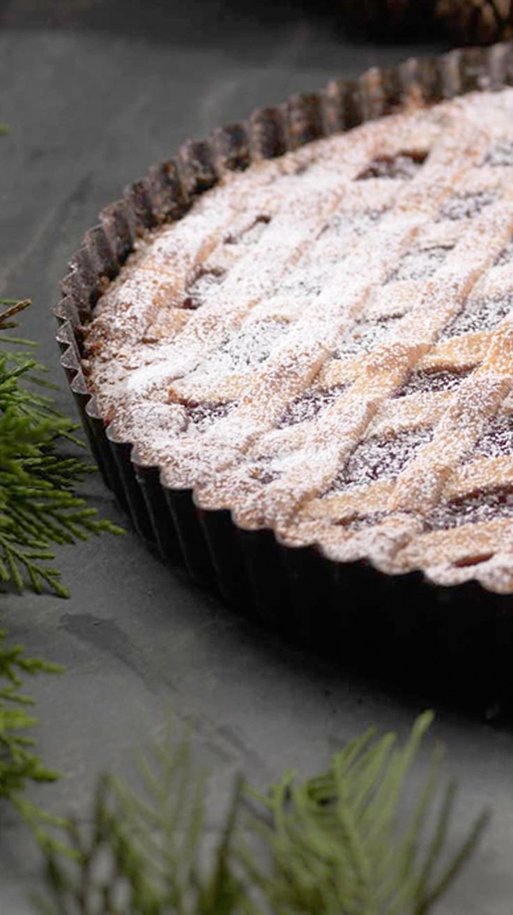 Based on Austria's most famous and oldest dessert, Martin Wishart's Linzer tart recipe replaces the more usual blackcurrant filling with cranberry.