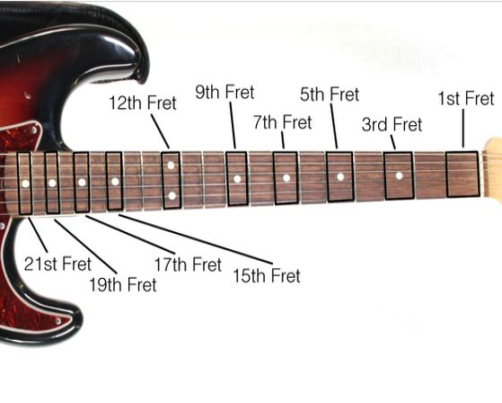 Lesson 7: What Are Guitar Frets?