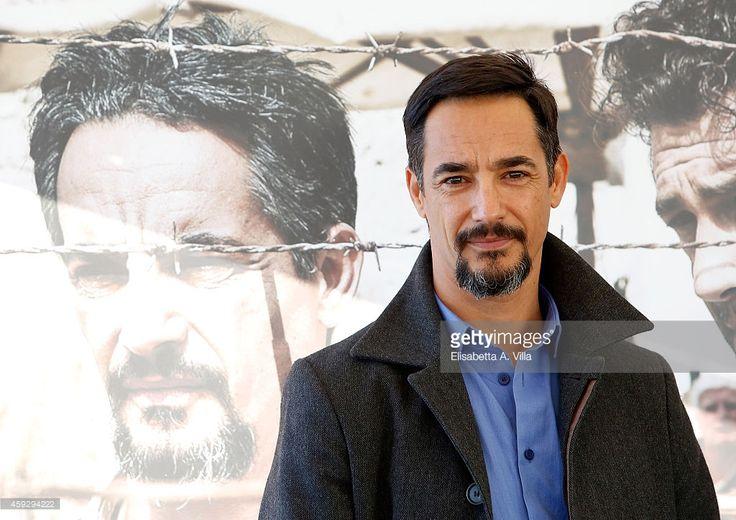 Actor Peppino Mazzotta attends 'Un Mondo Nuovo' photocall at Hotel Bernini Bristol on November 20, 2014 in Rome, Italy.