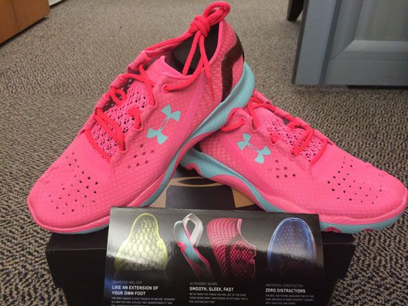 Under Armour Unveils a Sneaker That Makes You Feel Nothin' But Fast : These babies will make you fly, girl.  #SelfMagazine