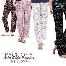 Buy 24hourspk Pack Of 5 Pajamas For Her    sweaty betty women's sportswear  women's sportswear sale  women's sportswear brands  mens sportswear  sportswear online  womens gym wear  gym leggings  pink soda