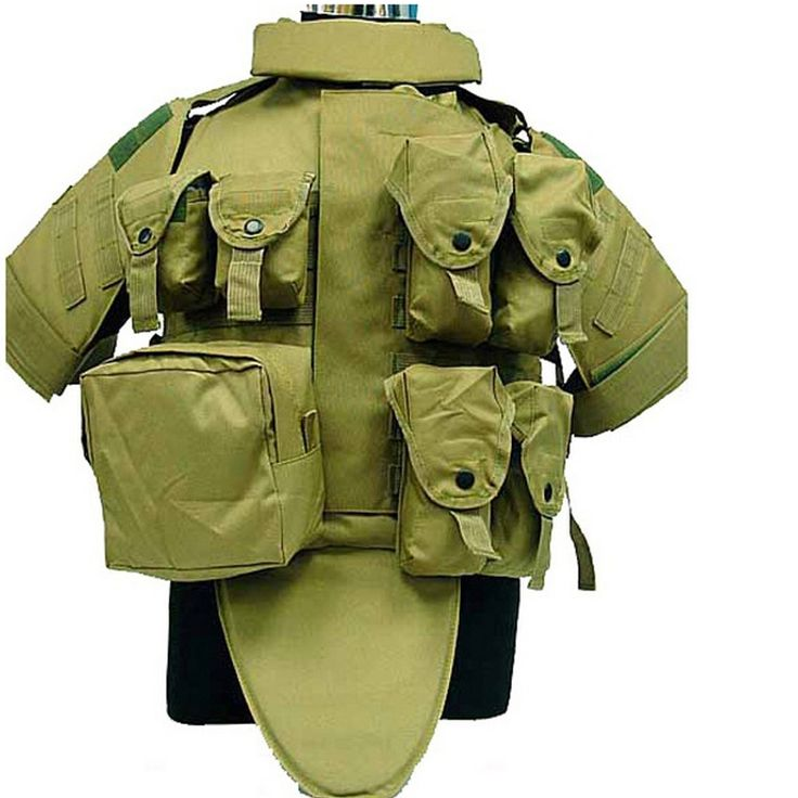 52.48$  Watch now  - 4 colors Paintball Airsoft game OTV Body Armor Carrier Tactical Vest Coyote Brown colete molle military tactical vest