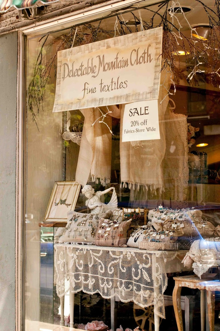 Delectable Mountain Cloth:If you haven't been, you MUST go! 125 Main Street Brattleboro, Vermont 05301- http://www.delectablemountain.com/