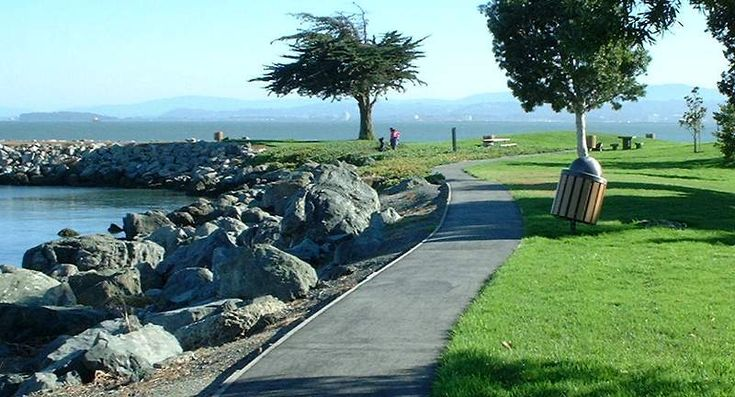 Jetty at San Bruno Point Park