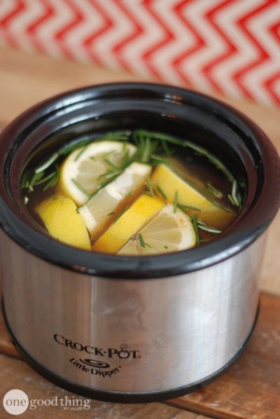 My Favorite Simmering Potpourri Recipes - One Good Thing by Jillee