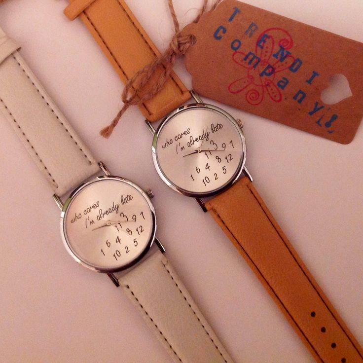 Same watch-different colors. Love these!