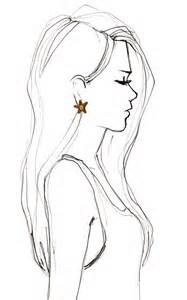 how to draw hair profile - Yahoo Image Search Results