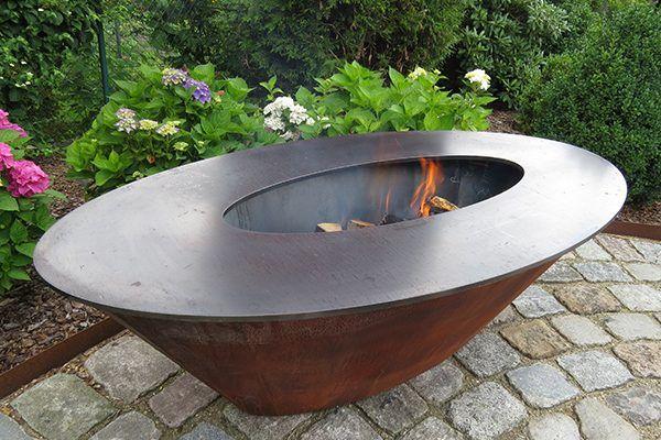 Edel Und Garten Feuerschalen Modell 3 Feuerschalen Garten Feuerschale Gartengestaltung