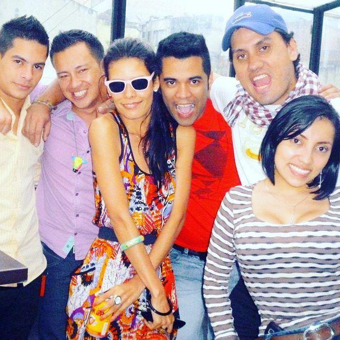 #tbt Esto fue hace precisamente 4 años. Después de un partido de Colombia.  #recuerdos
