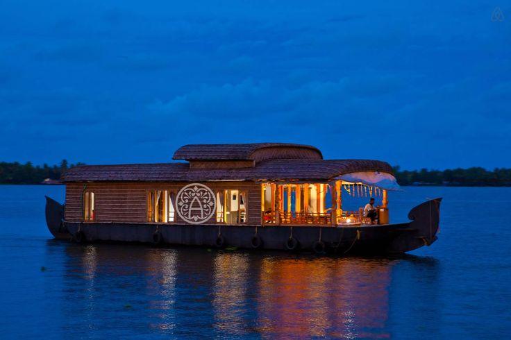 Honeymoon Houseboat in Kerala Алапужа, Керала, Индия